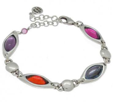 P171141 - Bracelet 4 Colored Crystal