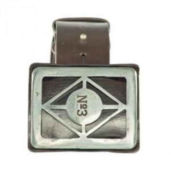 Rectangle Leather Belt
