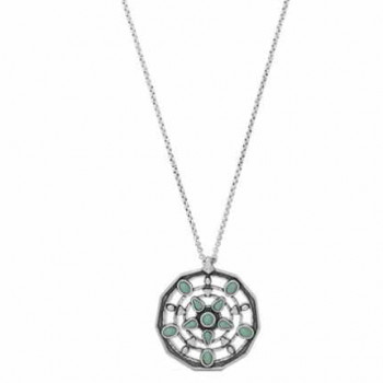 Chain Necklace Boho Pendant - Ranjit