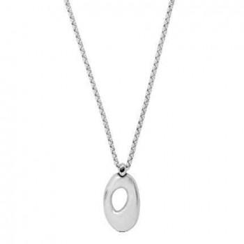 Ovale Anhänger Glieder Halskette - Citra