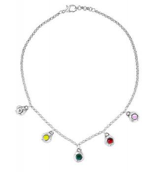 Silber Halskette Charms - Luz