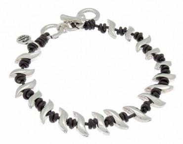 Armband Charms & Lederknoten