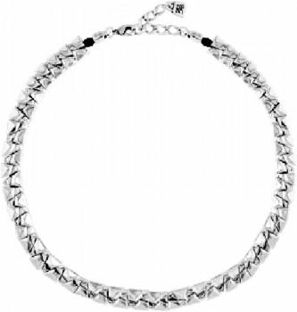 Choker Silver Necklace - Sarabi