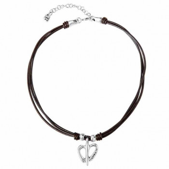 Choker Heart Necklace - Fly me