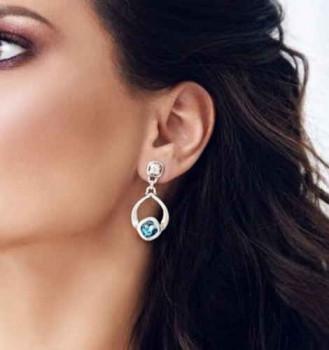 Drop Swarovski Earrings - Goteo