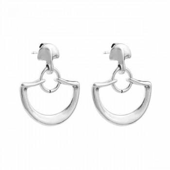 Semi Circle Ear Hangers - Inimitable