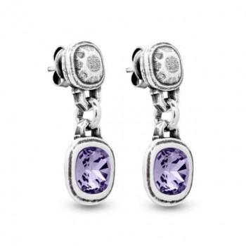 Colorful Swarovski Earrings - Classic