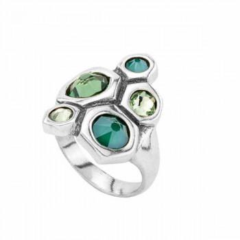 Swarovski Kristall Ring - Hive