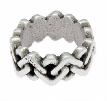 Geflochtener Band Ring
