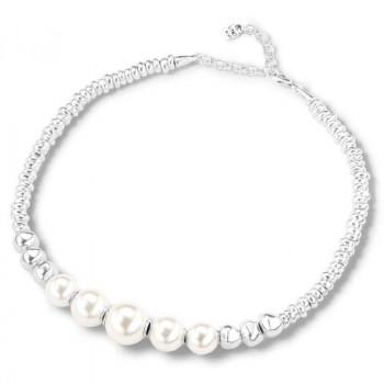 Gargantilla 5 Perlas Blancas - Superlative
