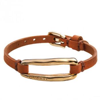 Camel Leather Bracelet - Tie Me