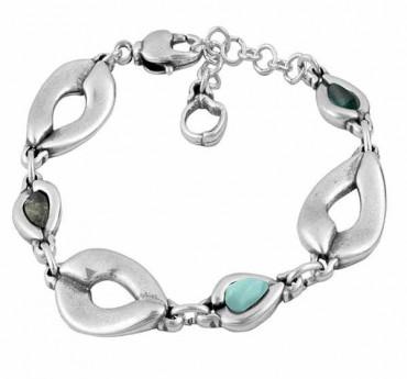 Silver Leaved Bracelet - Sueve