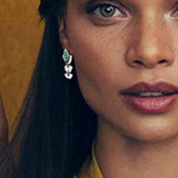 Jade Green Teardrop Earrings - Mrs Rani