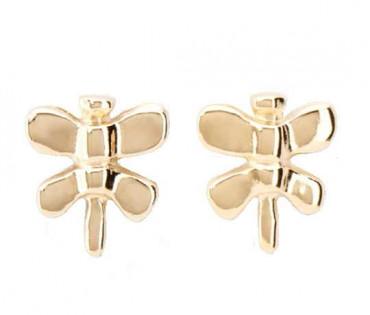 Butterfly Gold Earrings - Just Be