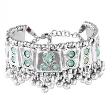 Jade Green Boho Style Bracelet - Mrs Rani