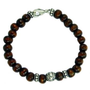 Male Bracelet Wooden Beads