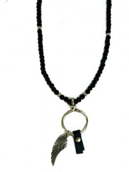 R662 - Hoop Pendant and Angel Wing