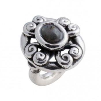 Rococo Silver Ring