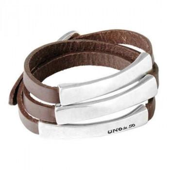 Brown Wrap Bracelet - Blackout
