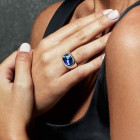 Blue Crystal Ring - Light it up