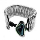 Wide Bracelet Spine Charms