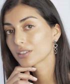 Boucles d'oreilles clé - Flellave