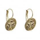 Aztecs Gold Earrings - Sayulita