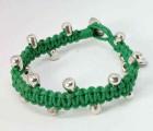 Green Makrame Bracelet