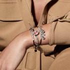 Bracelet Cuir Boutons - The Crew