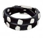 Cowhide Leather Bracelet - No blemish
