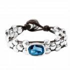 Bracelet Cristal Bleu - Hey You