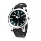 Black Quartz Watch - El Tiempo Vuela