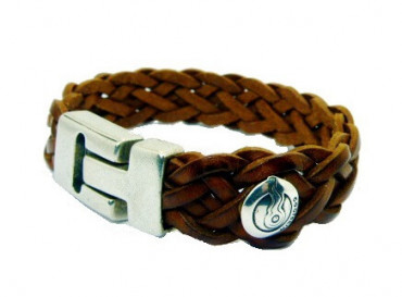 Braided leather Bracelet from Coolskin