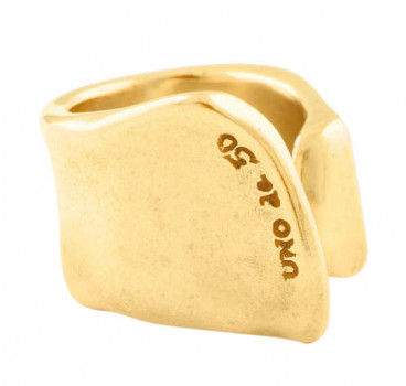 A 248 - Gold Crevice Ring