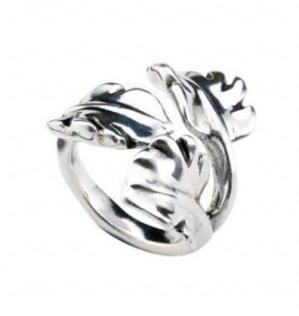 A 546 - Leaf Flower Ring
