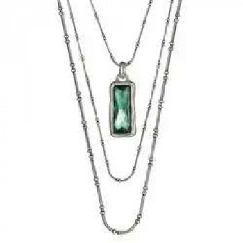 C 584 - Green Crystal Pendant