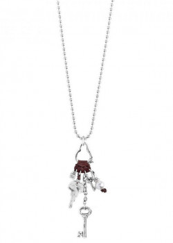 C1124 - Chain Necklace Key Charms