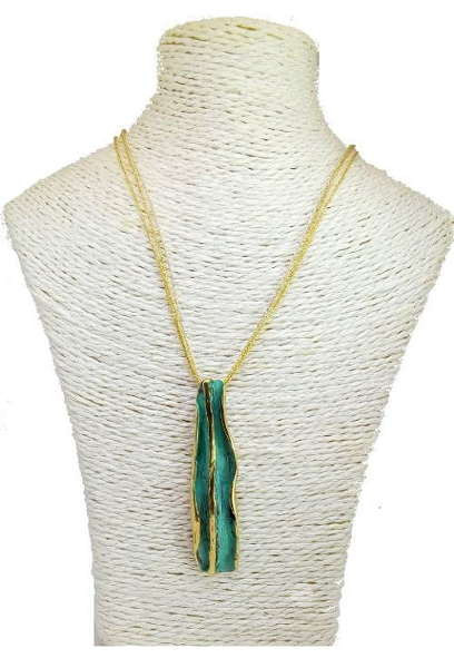 fish design Imitate with wooden beads Pendant C814