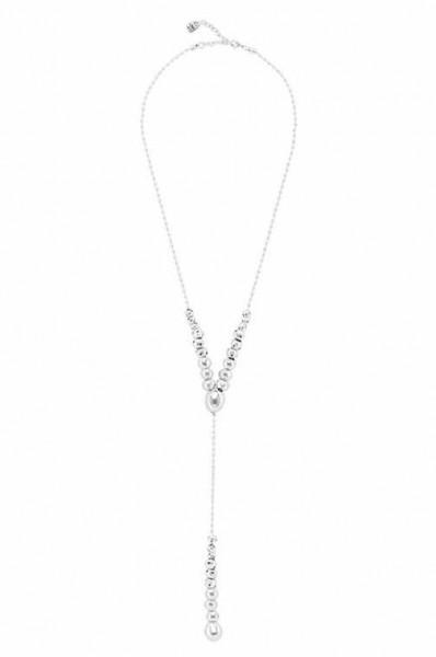 "Argent Sterling 925 Designer Inspired Wishbone Pendentif Sur 18/"" Chaîne Collier"